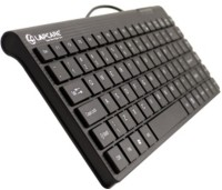Lapcare D-Lite Wired USB Small Keyboard (Black)