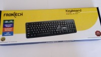 FRONTECH JIL - 1672 Wired USB Laptop Keyboard (Black)