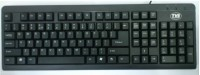 TVS-e Champ Wired USB Standard Keyboard (Black)
