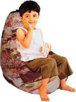 ORKA Chhota Bheem Bean Bag Leatherette S Teardrop Kid Bean Bag (Bead Filling, Color - Multicolor)