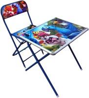Suryaprabha Kids Engineered Wood Study Table (Finish Color - Blue)