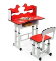 Royal Oak Engineered Wood Study Table (Finish Color - Disney Red)