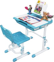 Alex Daisy Universal Metal Study Table (Finish Color - Blue & White)