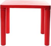 Cello Plastic Study Table (Finish Color - Red)