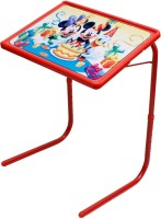 Rvold Mickey Plastic Study Table (Finish Color - Red)