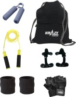 Krazy Fitness Fitness Accessories Combo 4 Gym & Fitness Kit
