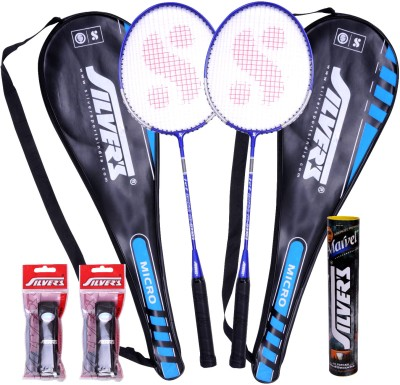Silver's Micro Badminton Kit at Rs 522 | 2 Racquet, Grips and 1 Box Cock