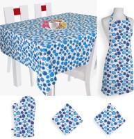 Smart Home Textile Self Design Cotton Kitchen Linen Set Multicolor, Pack Of 5 - KLSE8YSYGXEVW9NJ