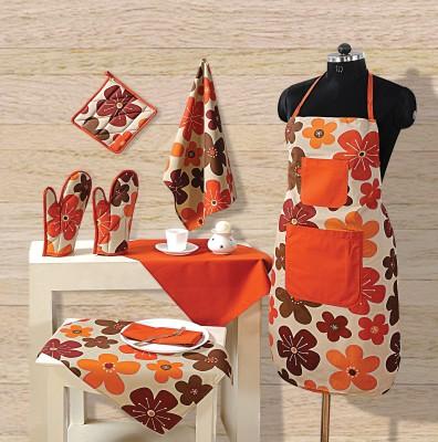 15 discount on swayam grillz cotton kitchen linen set for Kitchen set on flipkart