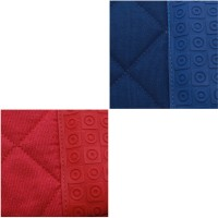 Spread Red, Blue Silicon Kitchen Linen Set Pack Of 2