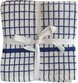 Lushomes Blue Cotton Kitchen Linen Set