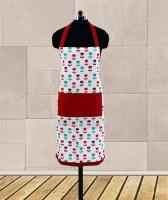 Dekor World Maroon Cotton Kitchen Linen Set Pack Of 1