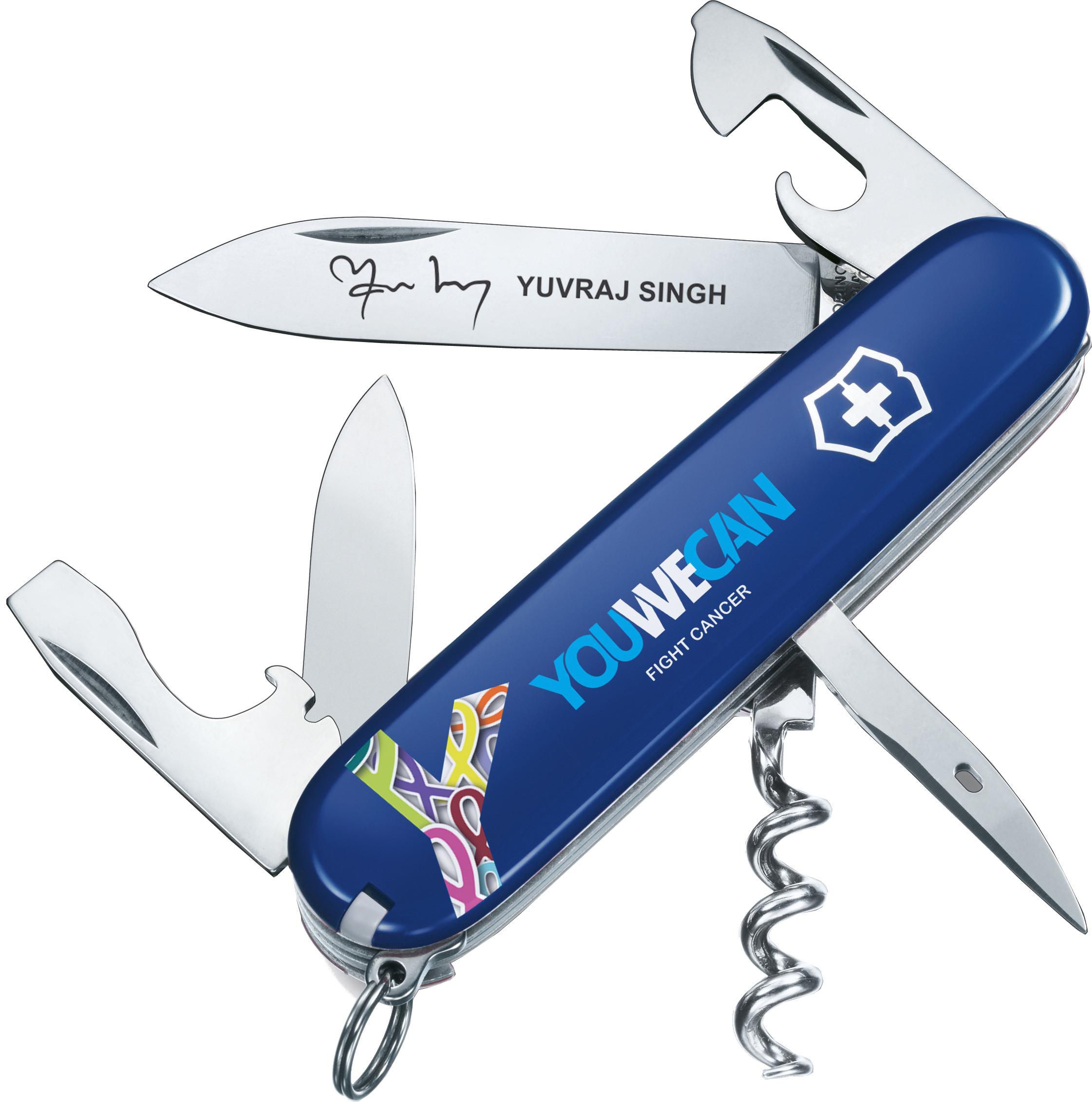 Victorinox Yuvraj Singh Foundation Swiss Knife Buy
