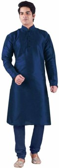 Royal Kurta Solid Men's Straight Kurta - KTAEG7ZKETY2KATS