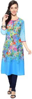 Rangmanch By Pantaloons Floral Print Women's A-line Kurta