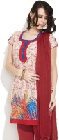 Victor Brown Printed Women's Straight Kurta