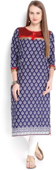 Vishudh Printed Women's Straight Kurta - KTAE6YXHFHUVZCG7