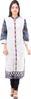 Cotton Duniya Printed Women's Straight Kurta