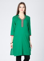 Karigari Striped Women's Kurta