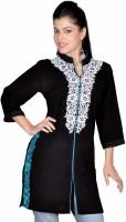 Seema Designs Self Design Women's Straight Kurta