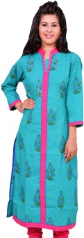 Chippa Prints Floral Print Women's Straight Kurta