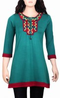 Mustard Solid Women's Straight Kurta
