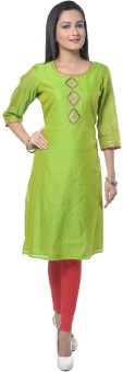 Good Things Solid Women's Anarkali Kurta - KTAE7MGCYWYFHVYV