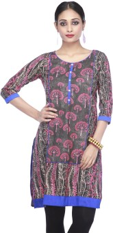 Stop To Start By Shoppers Stop Self Design Women's Straight Kurta - KTAE6QFY7BBZFZWN