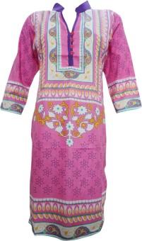 Indiatrendzs Casual Floral Print Women's Kurti