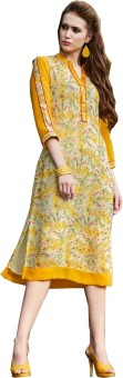 Jayanti Sarees Party Animal Print Women's Kurti