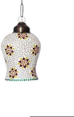 Craftkriti CK02 Hanging Lights (Pendant Lights) Lamp Shade (Glass)