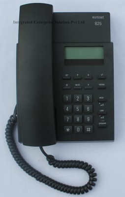 Euroset 825 Corded Landline Phone (Black)