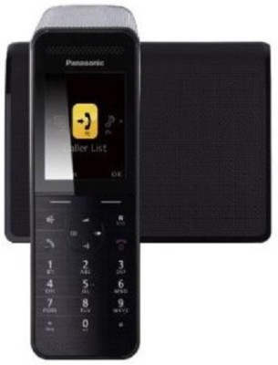 Panasonic KX-PRW110 Cordless Landline Phone (Black)