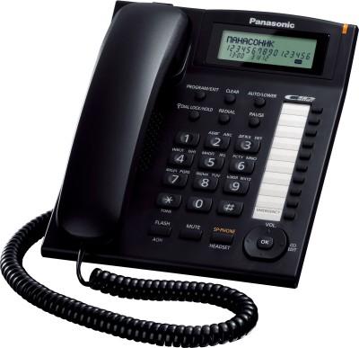 Panasonic KX-TS880MXBD Corded Landline Phone (Black)