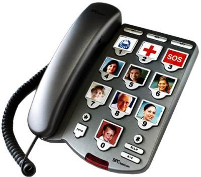 SPCtelecom 3283 Landline Phone (Titanium)