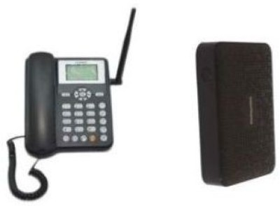Huawei ETS5623 Cordless Landline with 7800mAh USB Portable Power Supply Free Cordless Landline Phone (Black)