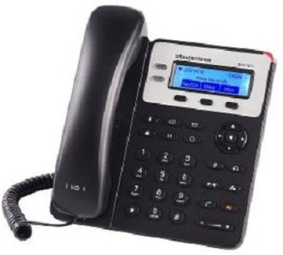 Grandstream GXP1620 Corded Landline Phone (Black)