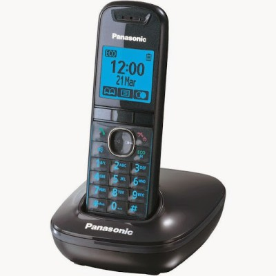 Panasonic PA-KX-TG-5511 Cordless Landline Phone (Black)