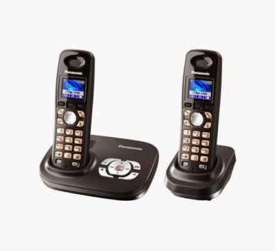 Panasonic PA-KXTG8022 Cordless Landline Phone (Black)