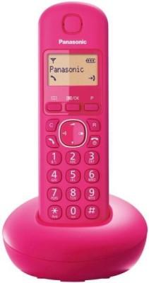 Panasonic PA-KX-TG210 Cordless Landline Phone (PINK)