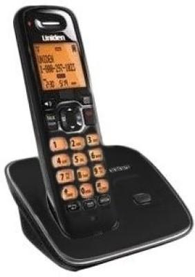 Uniden AS 1102 Cordless Landline Phone (Black)