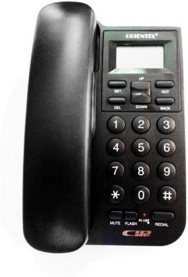 Siddh Present Orientel Jumbo Lcd Kx-T1555 Caller Id Corded Landline Phone (Black)