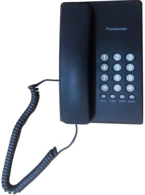 Panasonic Kx-Ts400sxb Corded Landline Phone (Black)