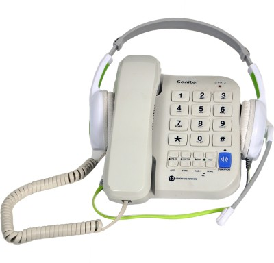 Sonitel ST-913HP Corded Landline Phone (White)