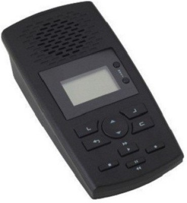 RTN INDIA Phone Recorder SVL01 Corded Landline Phone (Black, White)