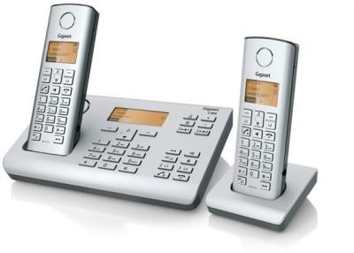 Gigaset C285DUO Cordless Landline Phone (Platine)