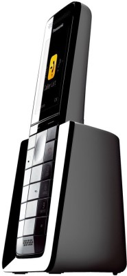 Panasonic KX-PRS110 Cordless Landline Phone (Black)