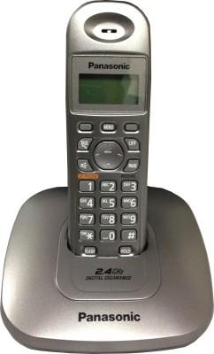 Buy Panasonic KX-TG3611SXM Cordless Landline Phone: Landline Phone