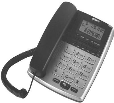 Uniden AS7402 Corded Landline Phone (Silver, Grey)