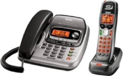 Uniden TRU 9496 Corded Landline Phone (Silver)